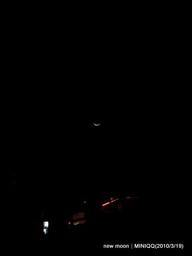 光陰地圖 018_東方夜空有抹淺淺的微笑(20100318)