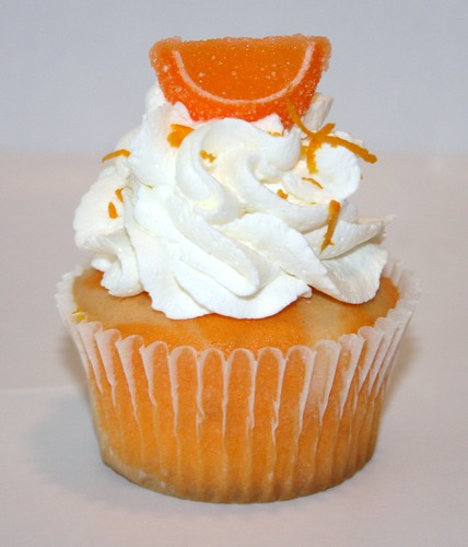 Orange Cream Cupcake - a photo on Flickriver