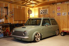 Nissan Pao (dez&john3313) Tags: classic japan cool mod nissan ride air retro special  modified pao tuner custom limited rare lowered dropped jdm bagged        pao