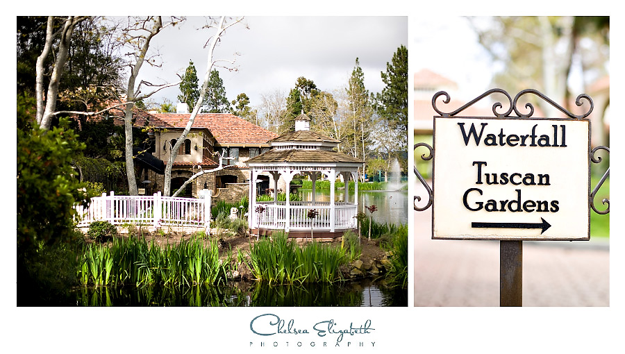 Westlake Village Inn Gazebo and Tuscan Gardens wedding venue