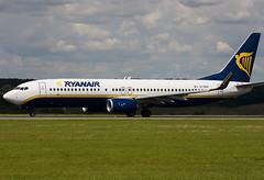 EI-DAH - 33546 - Ryanair - Boeing 737-8AS - Luton - 070709 - Steven Gray - CRW_5160