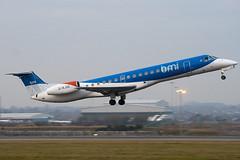 G-RJXE - 145245 - BMI Regional - Embraer EMB-145EP- Luton - 091215 - Steven Gray - IMG_5329