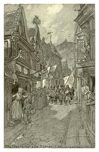 005-Alsacia fiesta de los gaiteros-Alsace-Lorraine-1918- Edwards George Wharton