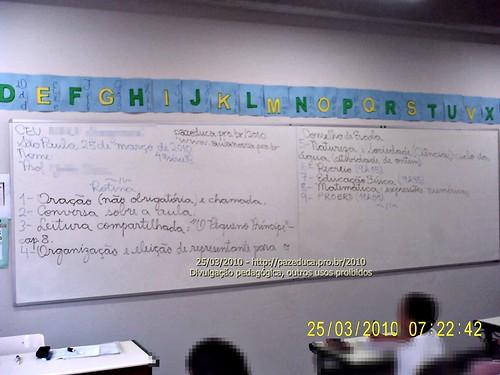 Rotina Prevista - 25/03/2010.