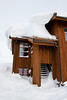Mye snø på personalbygget (TrulsHE) Tags: winter white snow cold norway norge vinter cloudy dnt snø haukeli kaldt hvitt overskyet fjellstue haukeliseter turistforeningen