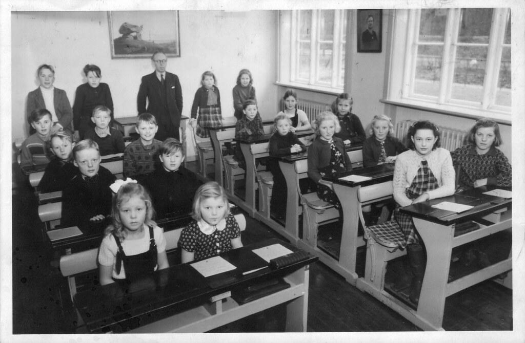 Vemmetofte skole 26. januar 1951