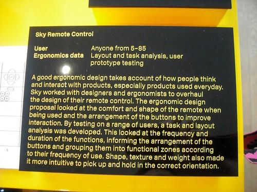 Remote control ergonomics