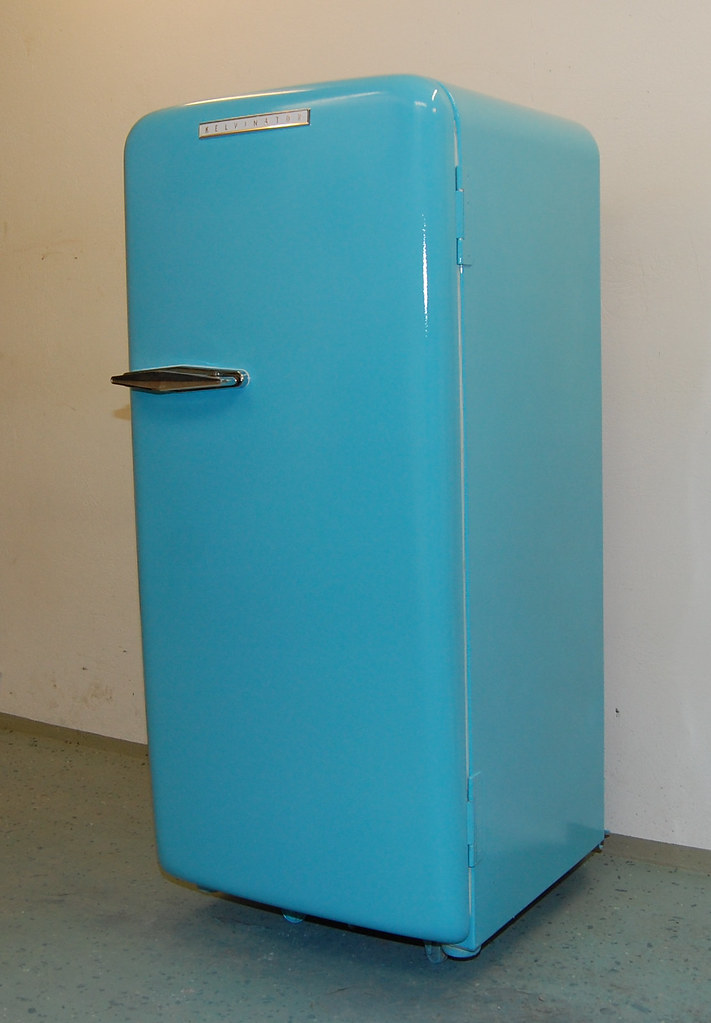 Retro Kelvinator Fridge