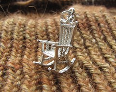 tiny rocking chair charm