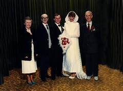 Image titled Peter and Margaret Wood's Wedding, Martha Street Registrary Office, 1987