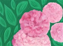 """ROSE HIPPY"" David Austin Roses (eyewrisz) Tags: art computerart sharing pinkroses davidaustinroses sharingart pinkflowersdigitalart"