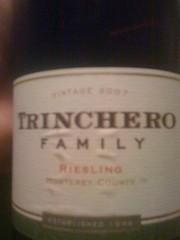 2007 Trinchero Family Riesling