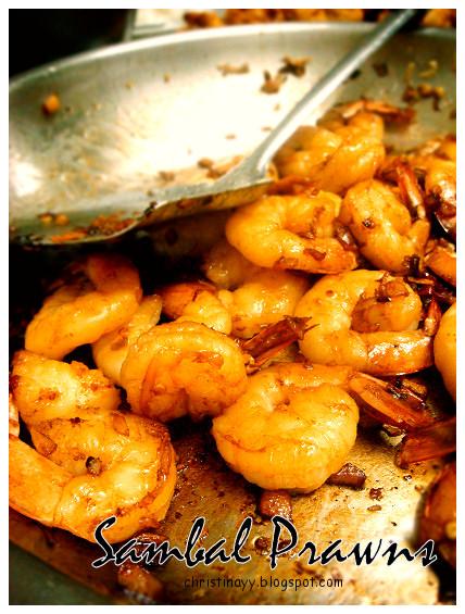 Home-cook: Sambal Prawns