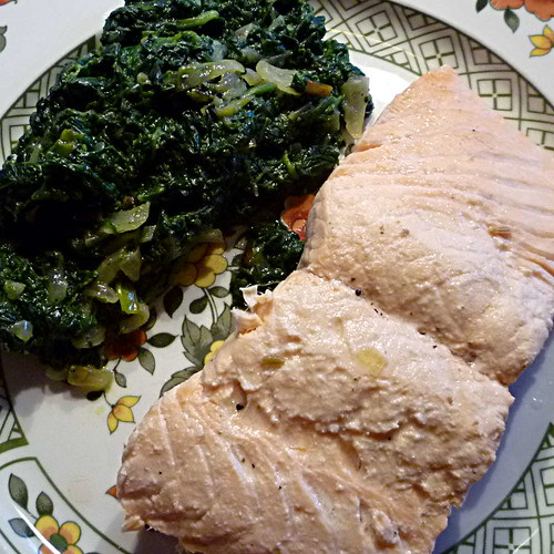 Lachs&Spinat