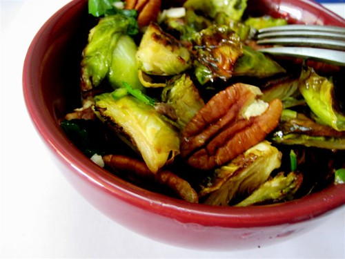Eats Well With Others: Brussels Sprouts with Pecans & Capers