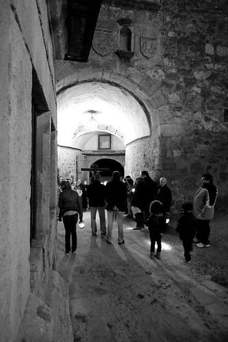 Viacrucis en Pedraza