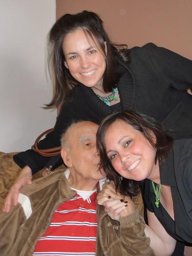 papa, J and i