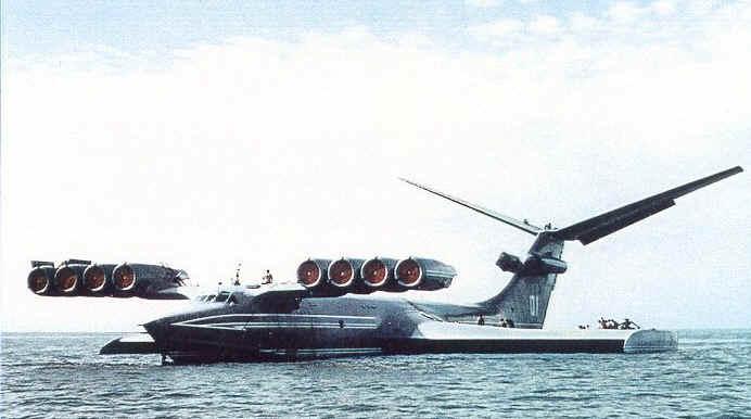 ekranoplan_of_1980s