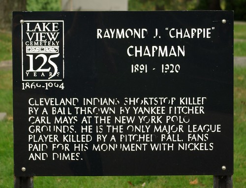 "Raymond J. ""Chappie"" Chapman historical marker"