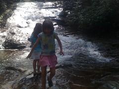 Girls at Lower Falls