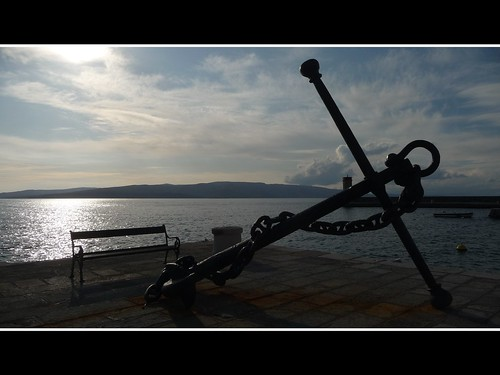 Anchor at Senj