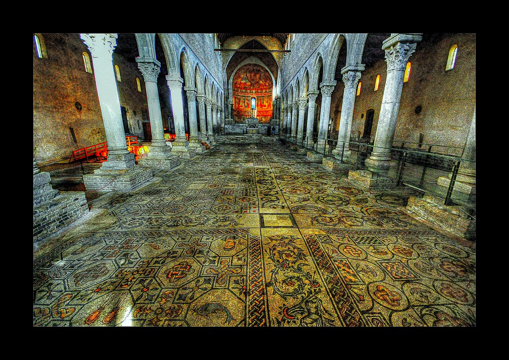 Beautiful mosaic floor