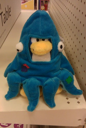 Disney Club Penguin Squidzoid