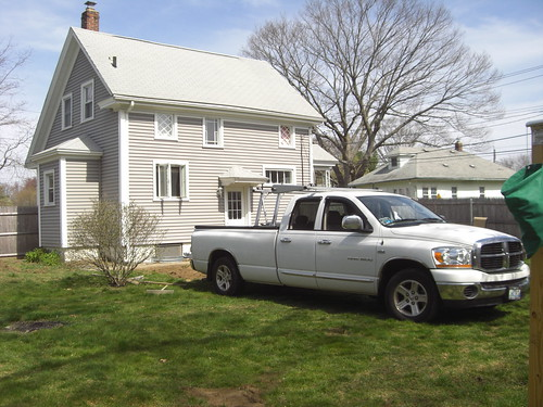 Truck on the Lawn