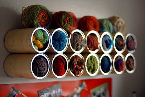 Leethal Yarn Storage Cans
