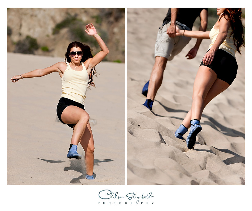 sand shoe commercial shoot malibu photography