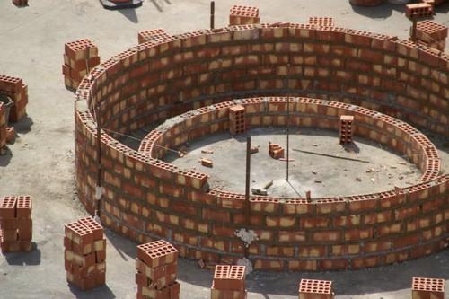 Construcción Rotonda Cuatro Caminos 4
