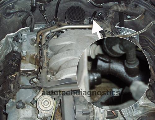 Fe F B on Mercedes C280 Throttle Body