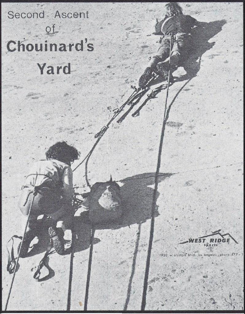 Second Ascent of Chouinard's Yard