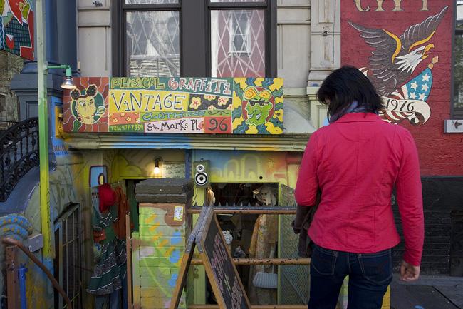 Vintage Store, East Village