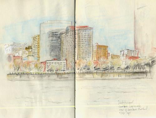 SketchCrawl - Eastbank Esplanade