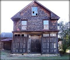 Vance County NC (History Rambler) Tags: old house abandoned rural rust south shingles northcarolina vacant weathered sawtooth vancecounty