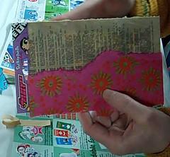 Still from PostArt Cards on the Edge Online Workshop Video 2