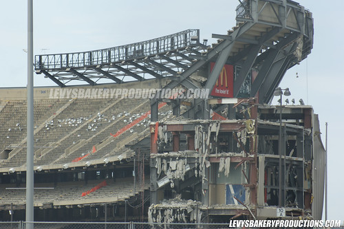 Giants Jets Stadium Torn Down April 15 2010