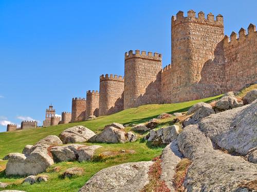 Murallas de Ávila by lepompier