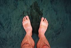 paddling time (lomokev) Tags: sea summer feet beach swimming sand nikon kodak paddling nikonos ektar deletetag nikonosv nikonos5 kodakektar100 nikonosfive roll:name=090724nikonosvektar file:name=090724nikonosvektar69