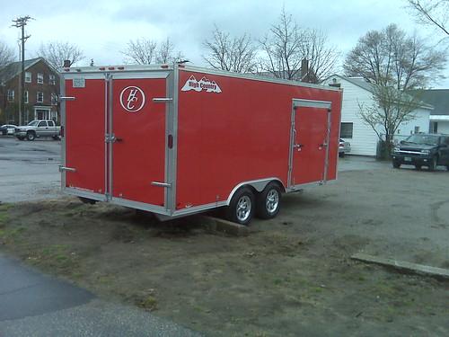 Keene special rescue trailer