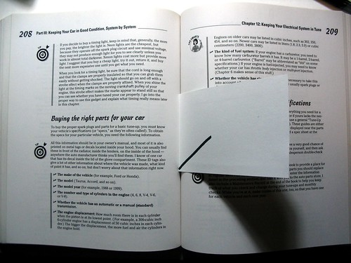 Single-line-resolution bookmark in situ