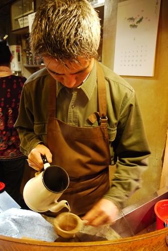 手沖@Cafe de L'ambre