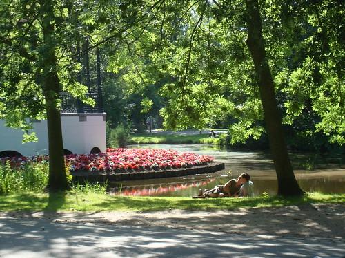 Casal no Vondelpark