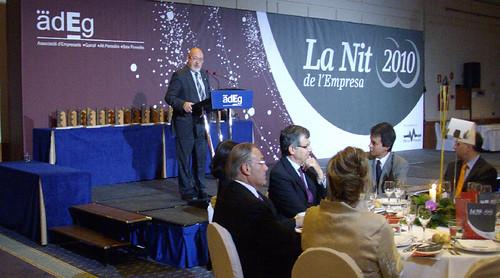 Josep Huguet - Nit dEmpresa - ADEG 2010
