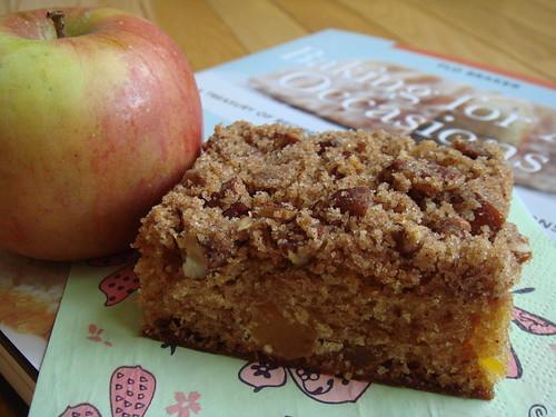Apricot Pecan Crumb Cake