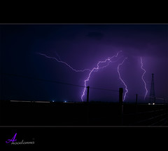 Lightning [ Explore ] (ANOODONNA) Tags: explore lightning canonef2470mmf28lusm برق canoneos50d flickrunitedaward anoodonna العنودالرشيد alanoodalrasheed