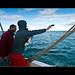 Mesure de la température de l'océan avec des sondes XBT