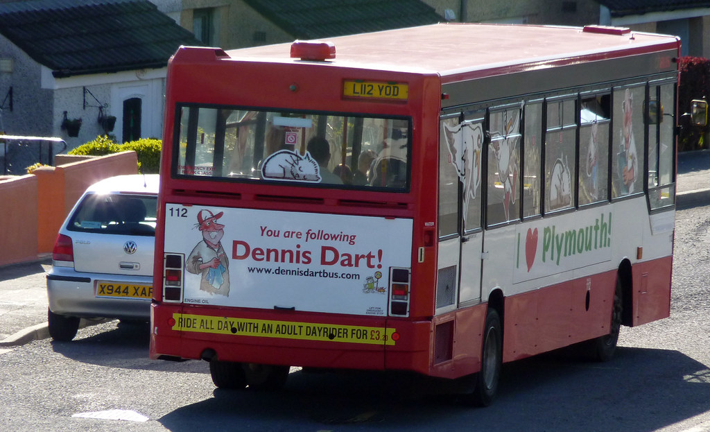 Plymouth Citybus 112 L112YOD (by didbygraham)