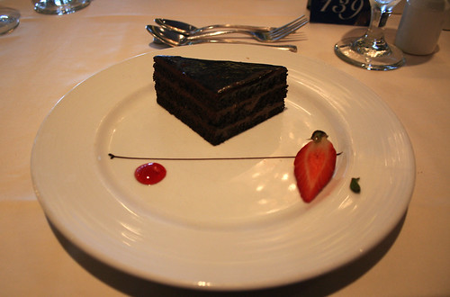 Carnival Spirit - Chocolate Gateau